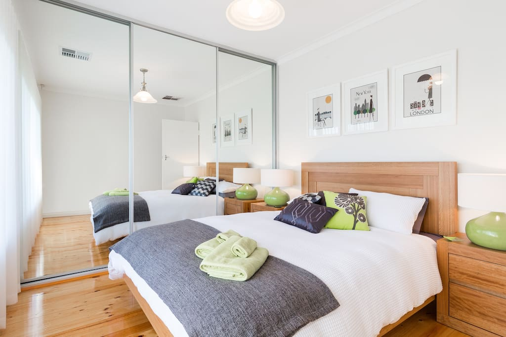 MASTER BEDROOM  - WITH COMFY QUEEN BED