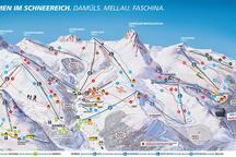 Der Skibus szur Talstation Mella startet vor der Haustür