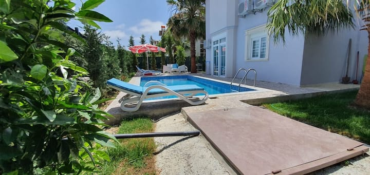 Superb 3 BR Secluded Villa with Private Pool in Antalya