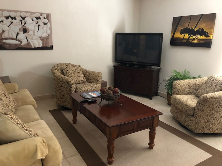Living room. Internet TV