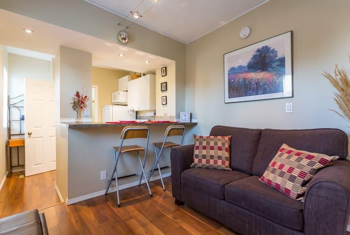 Best central location 1 bdrm suite
