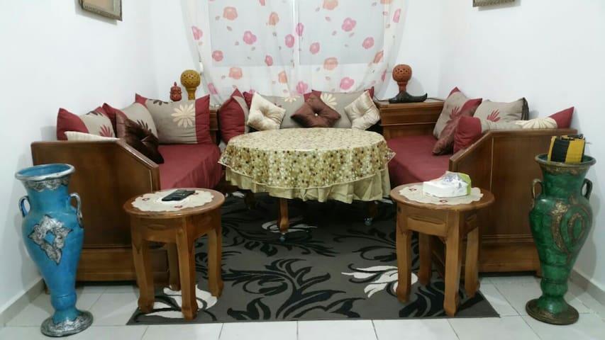 Appartement bien meubler et propre - Fès - Apartamento