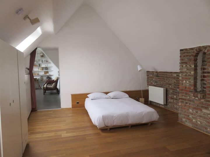 Chambre dans un appartement de charme