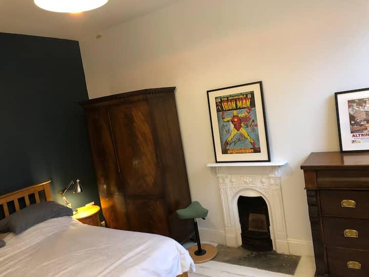 8 bed Victorian villa and garden Altrincham