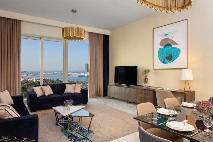 Fantastic Palm Sea View 3 Beds in Dubai Media City