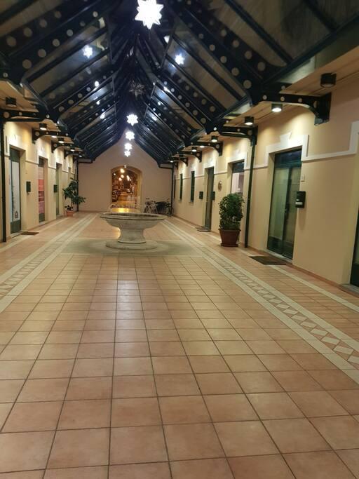 Galleria interna al palazzo