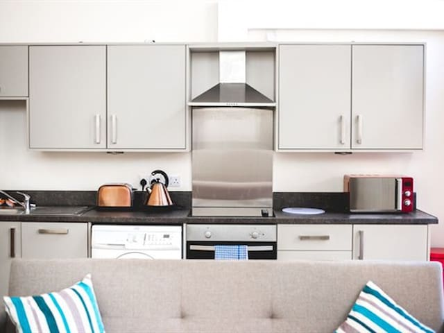Spacious 1 bed apartment - James Reckitt Library