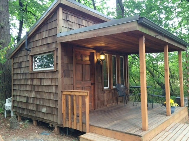 Our TINY HOUSE in the Trees