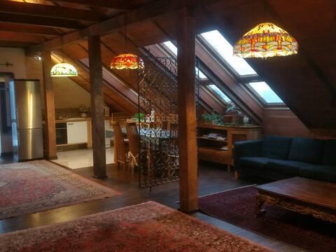 an exclusive loft in (near) Warsaw. Stay in style.