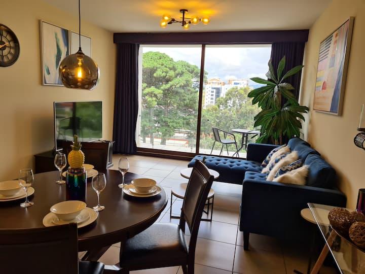 Precioso apartamento en excelente ubicación zona 9