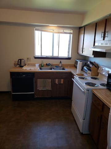 Kitchen at your full disposal (Not shown, coffee maker)
