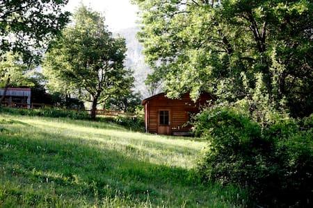 petit chalet  pleine nature en drome provençale - La Roche-sur-le-Buis - Chalet