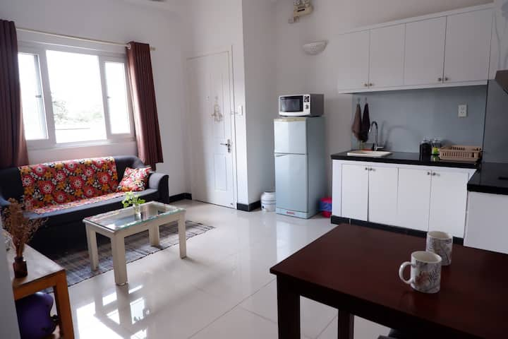 Your cosy appartment in HCMC with private balcony