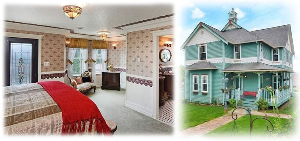 Modern Victorian - Master Bed&Bath - Bremerton - Casa