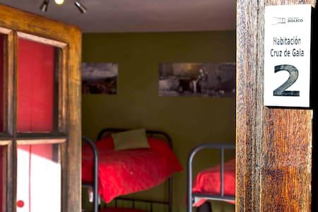 Albergue Bolico: Habitación 2 - Las Portelas