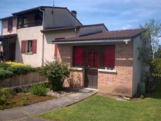 Appartement rez de jardin