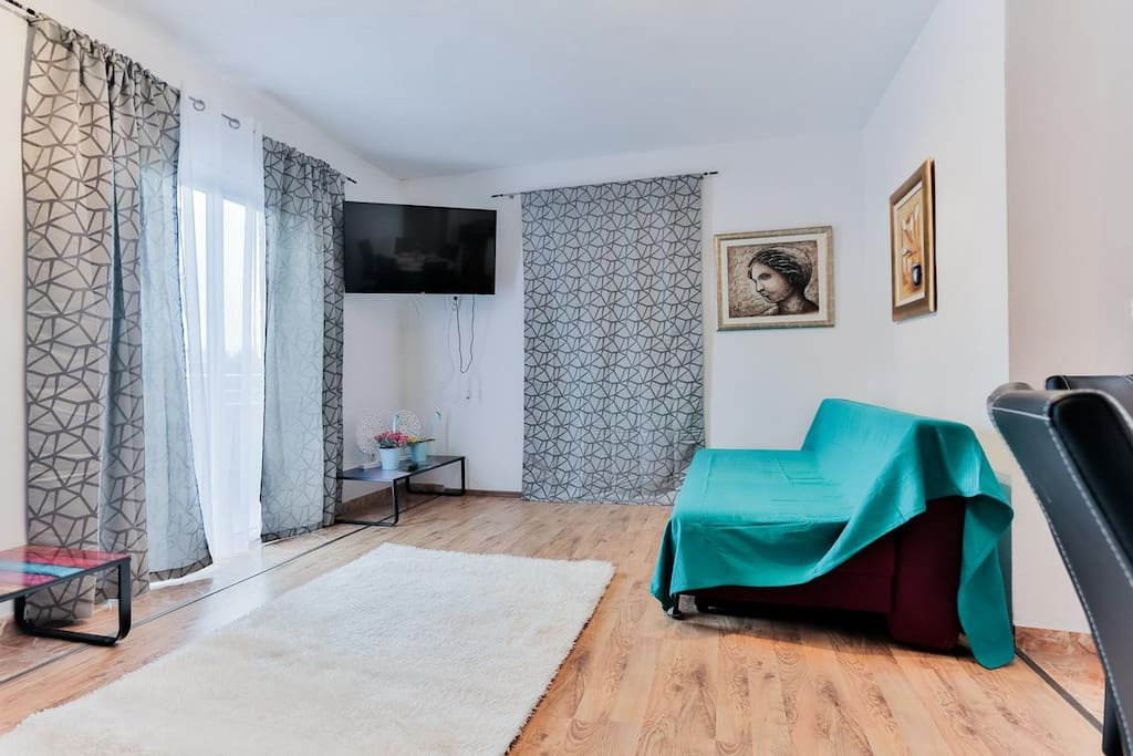 Living room, Surface: 25 m²