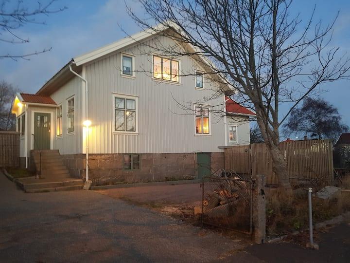 Mysig atmosfär i Lugn&Ro på Bohus-Malmön