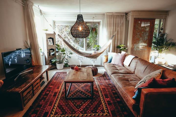 Gezellig appartement aan Goffertpark in Nijmegen