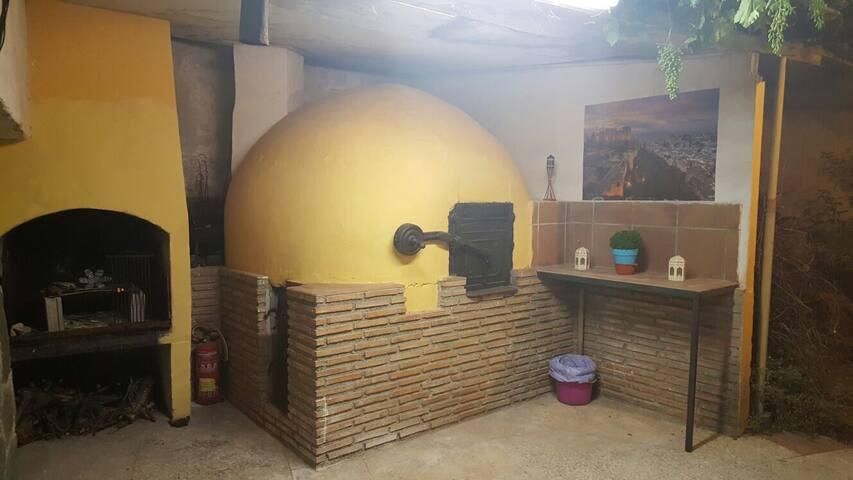 Cortijo Rural con encanto - Padul - Huis