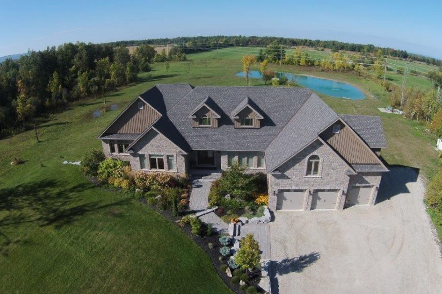 Private 12 acres near Blue Mountain, Collingwood and Wasaga Beach.