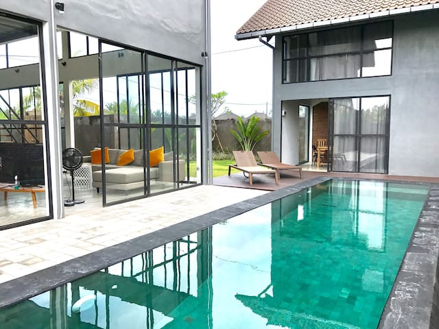 Boutique loft with guest pool house - Ubud - Loft