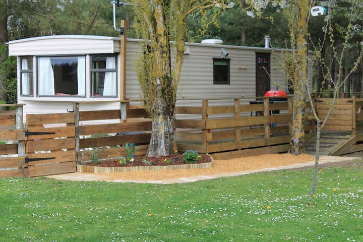 La Rocaille, Mobile Home with shared pool