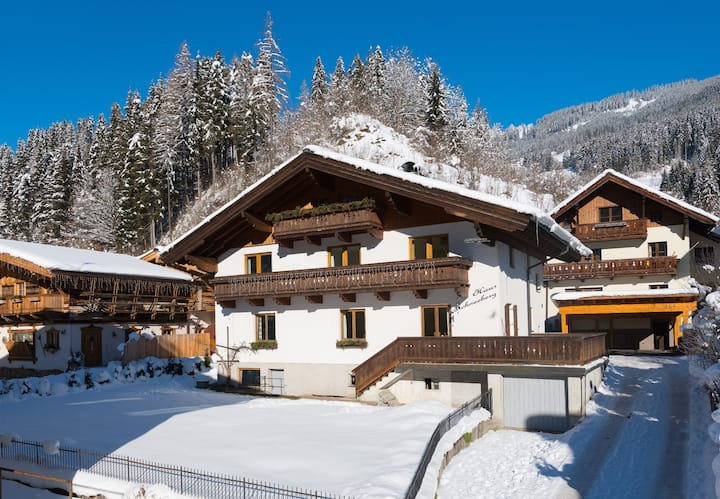 Haus Schneeberg, Aberg Apt, Ski 750m, bus 100m