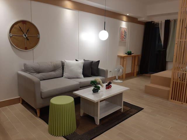 Japan is now in Araneta City!  Studio w/ balcony.