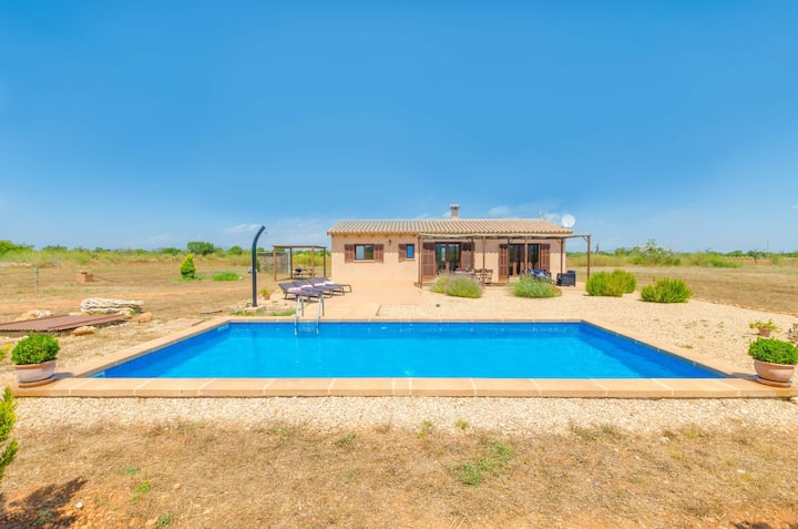 SON FRED  - Villa with private pool in FELANITX. Free WiFi