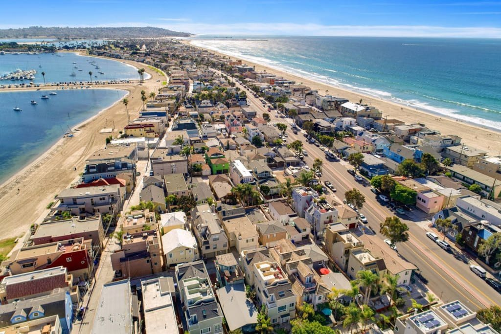 Welcome to paradise, within steps to Mission Beach and Bay! Nestled in North Mission Beach, this is THE vacation spot to be in!