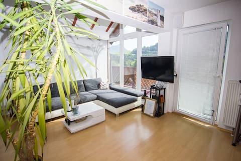 Countryside loft apartment near Lake Mondsee