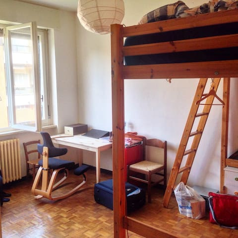 Cozy room, well connected, wifi - Mediolan - Apartament