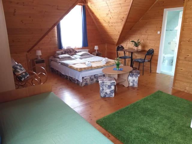 Hubertus ház-3ágyas szoba-Parádóhuta-Mátra
