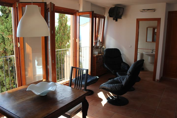 Cosy front line studio apartment with sea view - Finestrat - Apartment