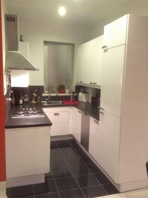 Fully fitted modern kitchen with all facilities.