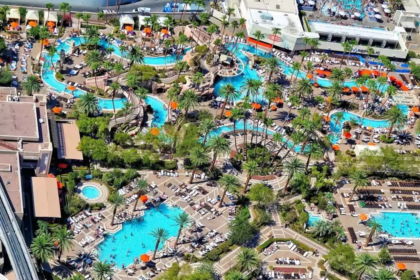 You will have access to the MGM Pools, including the Lazy River!