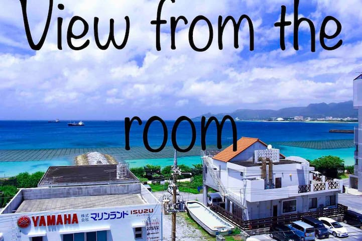 名護 海の見える部屋 Nago city  two bedroom 1min to beach