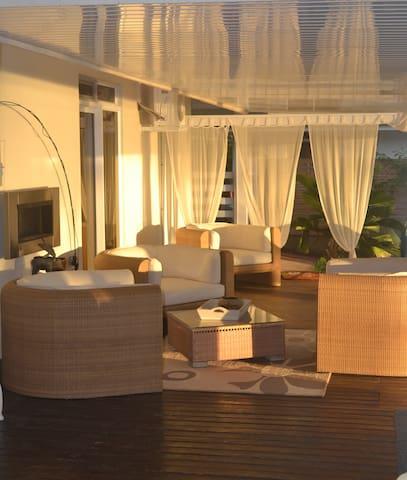 panoramic terrasse lounge