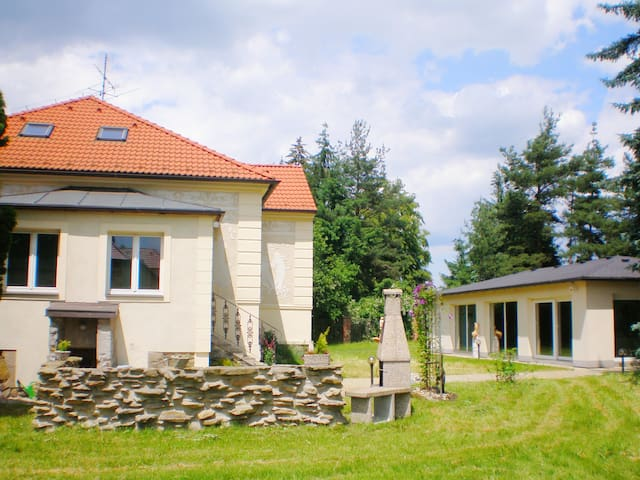 Villa with indoor pool and sauna in South Bohemia