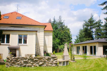 Villa with indoor pool and sauna in South Bohemia - Planá nad Lužnicí - 别墅