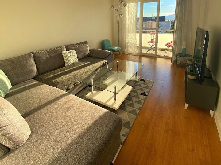 Appartement lumineux, moderne et fonctionnel