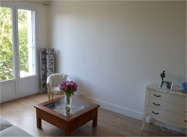 Bedroom & Parking (25mn to Paris) - Maisons-Laffitte - อพาร์ทเมนท์