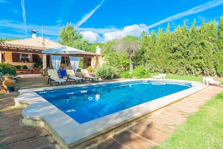 Cas caparrot - country house with swimming pool - Lloseta