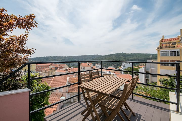 ROOFTOP Studio with terrace and view by Amoreiras