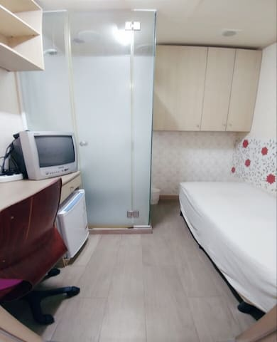 Private Room with Bathroom in Sinchon & Hongdae 1