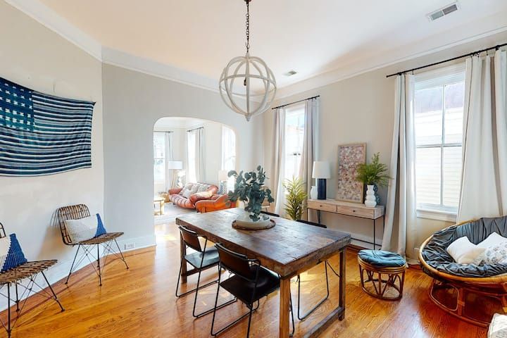 Historic Upstairs Condo in Downtown Charleston w/Free WiFi - Perfect for Groups