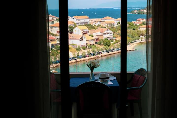 Mediterranean Apartment on Island Ugljan with Pool