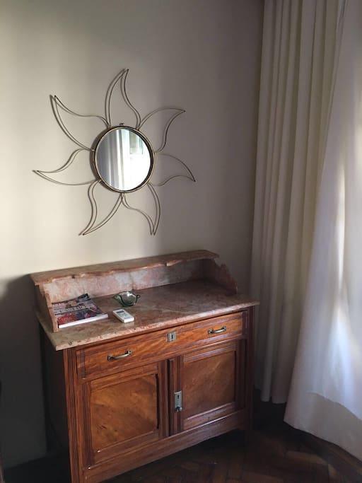 Dresser in the main bedroom