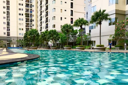 Extra private living at Maplepark near Kemayoran